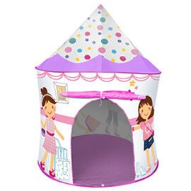 《孩子國》摩登公主帳篷折疊遊戲球屋送100球