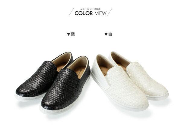 ☆BOY-2☆【NKP-GP60】韓國潮流皮革編織懶人鞋 1