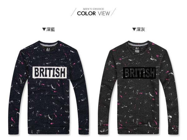 ☆BOY-2☆ 【KKL1067】BRITISH針織毛衣 1