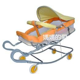 【媽媽的愛】Mother's Love KC378A雙弓彈搖床椅