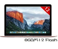 Apple 蘋果商品推薦Apple 蘋果   MacBook MMGM2TA/A 12吋筆電 玫瑰金12吋/CoreM-1.2/8GB/512 Flash-Rose Gold