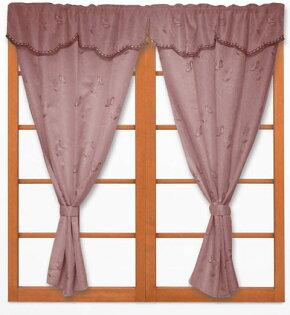 ◎幸福傢飾◎DIY歡沁落地窗簾 300*210cm 粉紅/粉黃