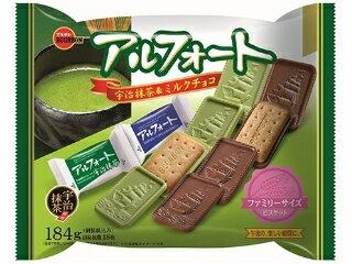 有樂町進口食品 北日本宇治抹茶&巧克力帆船餅乾 184g/18枚 4901360316007