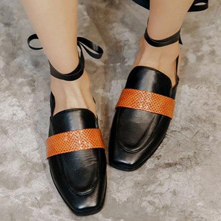 拖鞋 歐美時尚嬉皮隨興綁帶拖鞋【S1591】☆雙兒網☆ 4