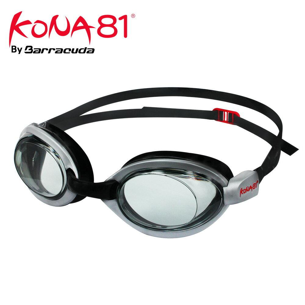 美國巴洛酷達Barracuda KONA81三鐵度數泳鏡K514【鐵人三項近視專用】 0