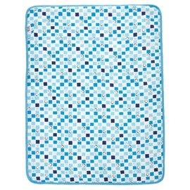 『121婦嬰用品館』PUKU 印花夏被 - 藍 0