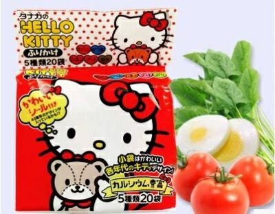 有樂町進口食品 日本Hello Kitty-飯友48g(20枚入) 4904561032806 - 限時優惠好康折扣