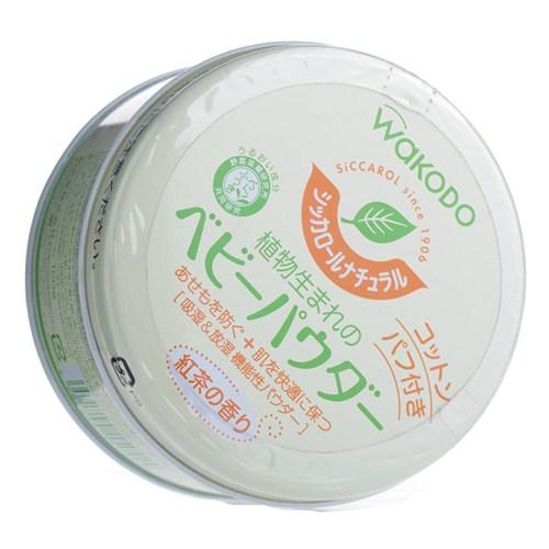 Wakodo和光堂 - 嬰幼兒玉米爽身粉 (紅茶香味) 120g 0