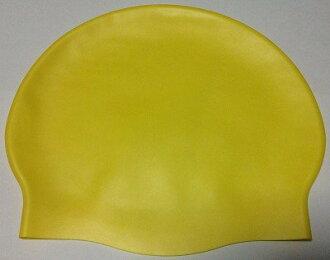 東鳳 泳帽-D6025A 矽膠帽 清新高雅素帽 ☆台灣製專業廠製造(MIT)
