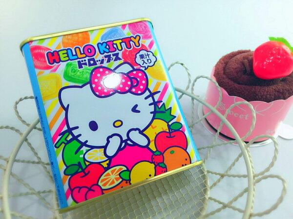 【13本舖】佐久間水果糖鐵罐 (KITTY/嚕嚕米)