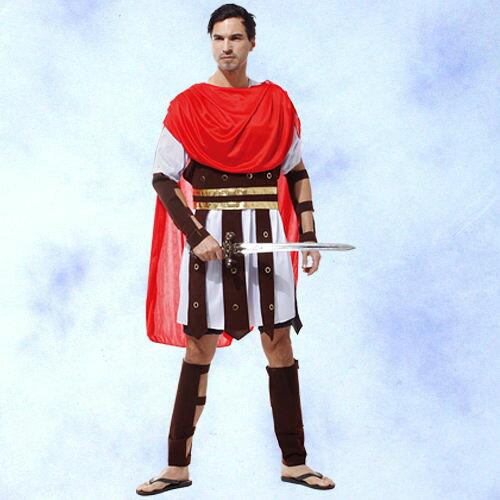 GTH-1466帥氣羅馬戰士化裝舞會表演造型服