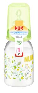 『121婦嬰用品館』NUK 一般口徑PP印花奶瓶110ml - (1號中圓洞) 1