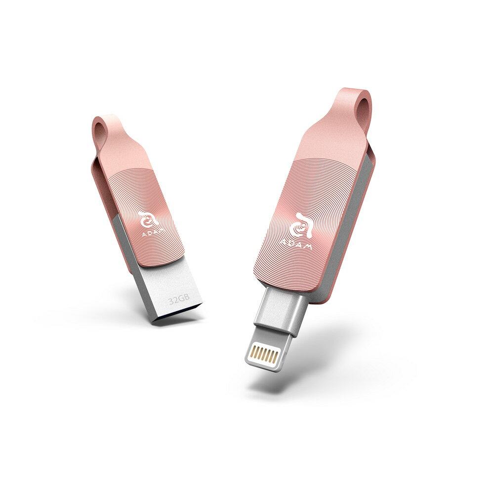 [預購] iKlips DUO + Apple 專用雙向USB 3.1 極速多媒體行動碟 64GB 4