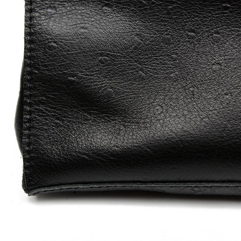 【BEIBAOBAO】氣質名媛牛皮壓紋肩背包(共兩色:  氣質黑) 7
