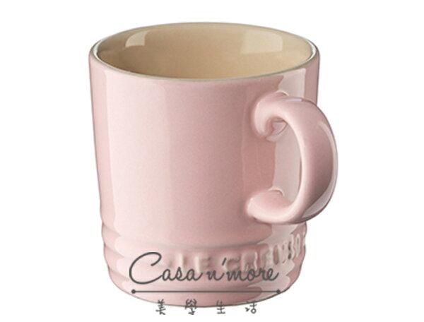 Le Creuset 馬克杯 咖啡杯 350ML 雪紡粉