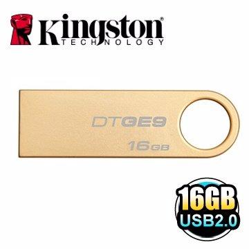 *╯新風尚潮流╭*金士頓 16G 16GB DataTraveler GE9 DTGE9 隨身碟 DTGE9/16GB