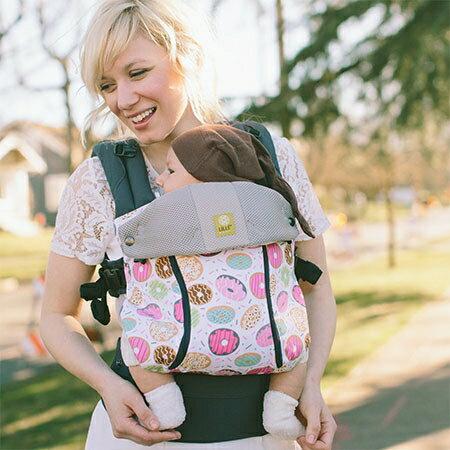 【新色上市】美國【Lillebaby】All seasons 四季限量款嬰兒揹巾-甜甜圈 0