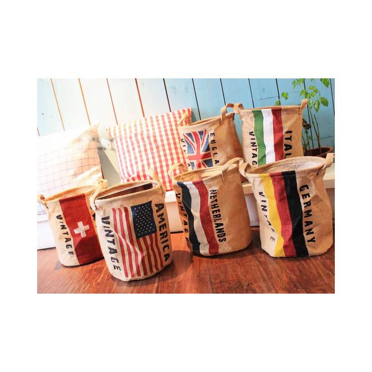 收納筒 超大收納洗衣籃 玩具雜貨收納  30*25【ZA0055】 BOBI  09/14 1