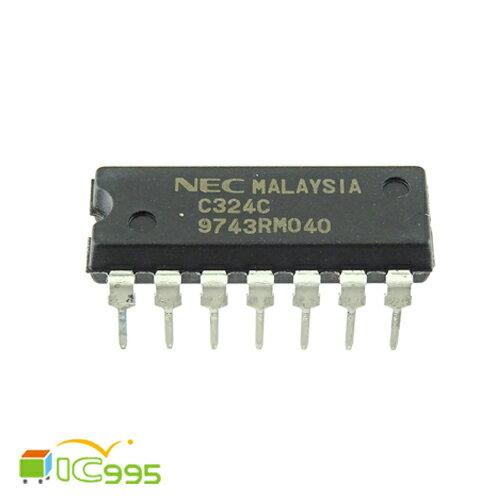 (ic995) C324C DIP-14 雙極模擬集成電路 低功耗四運算放大器 壹包1入 #0079