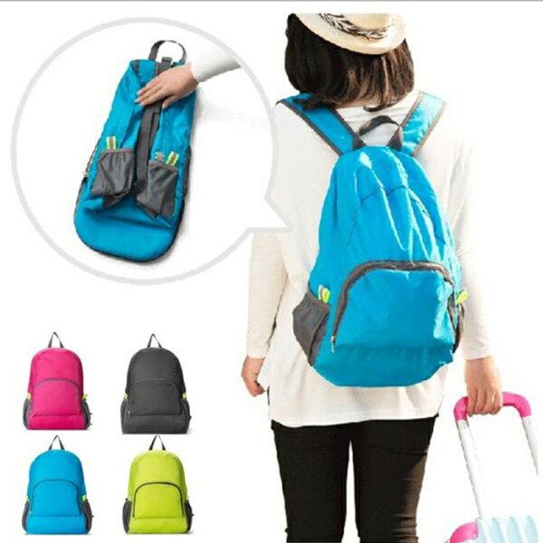tangyizi輕鬆購【DS075】多功能 口袋 日本 後背包 雙肩包 出國摺疊旅行包 防水收納包 登機行李箱 收納袋