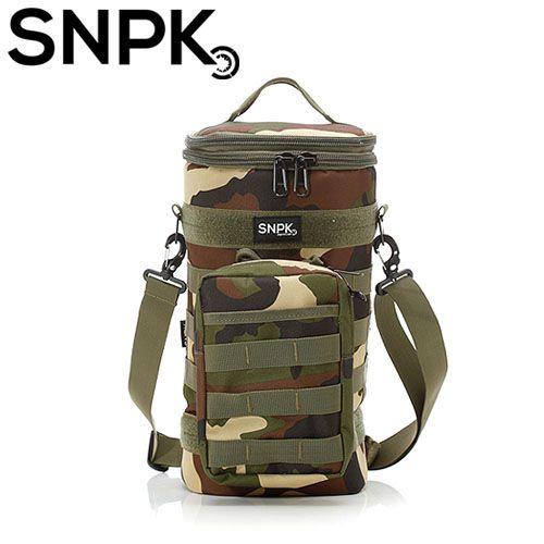 SNPK 多功能汽化燈收納袋S-叢林迷彩 露營用品/營燈收納攜行袋 台北山水