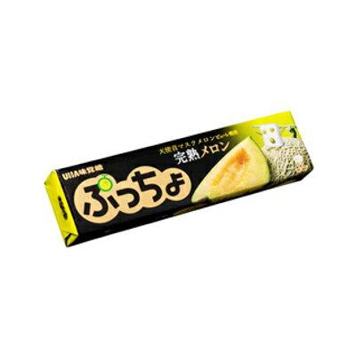 有樂町進口食品 日本進口 UHA味覺糖 哈密瓜糖條 50g J33 4902750859630 0