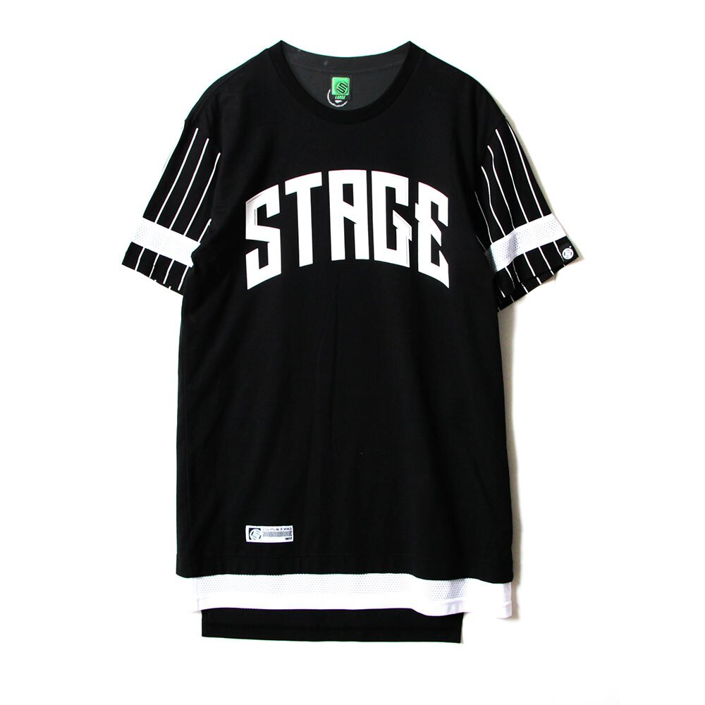 STAGE UNLIMITED WIDE SS TEE 黑色 / 白色 兩色 4
