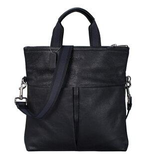 COACH F71722 手提包男款荔枝紋長款男士新款單肩斜側包 男包