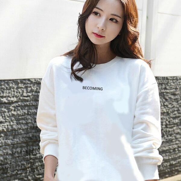 ◆快速出貨◆限定特賣會 原領刷毛T恤 情侶T恤 暖暖刷毛 MIT台灣製.BECOMING【YS0506】可單買.艾咪E舖 2