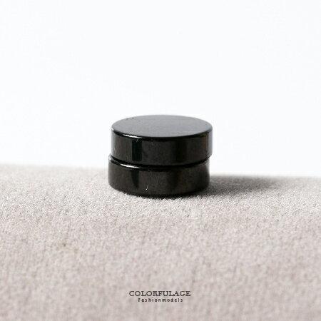 耳環 個性圓型磁吸式設計鋼製耳環 基本款 抗過敏抗氧化 免打耳洞 柒彩年代【ND229】單支價格 0