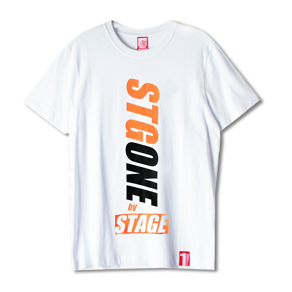 STAGEONE STGONE TEE 黑色/白色 3