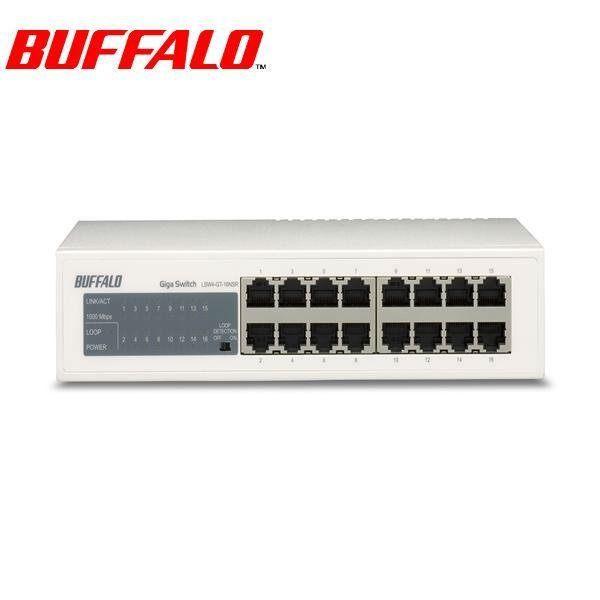 Buffalo 巴比祿 LSW4-GT-16NSR 16埠10M/100M/1000M交換器 [天天3C]