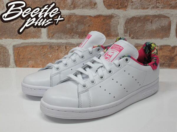 女鞋 BEETLE ADIDAS ORIGINALS STAN SMITH 白桃 花卉 夏威夷 愛迪達 S75564 1