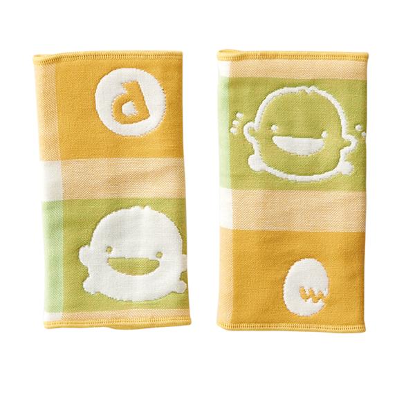『121婦嬰用品館』黃色小鴨 六層立體紗-口水揹帶套 3