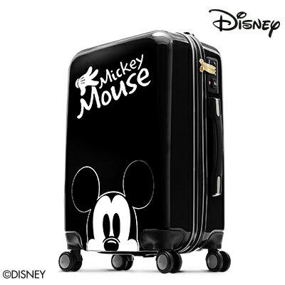 【加賀皮件】Deseno Disney 迪士尼 米妮 米奇奇幻旅程 20吋 PC鏡面 多色 拉鍊箱 旅行箱 行李箱 CL300