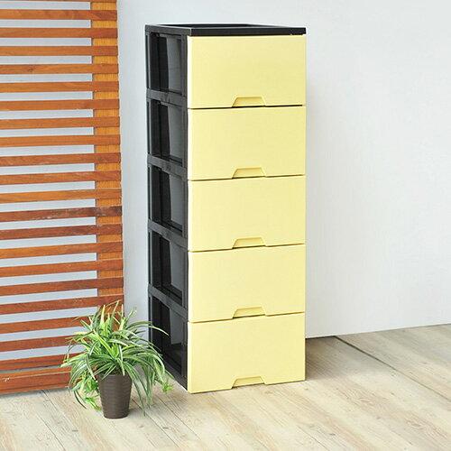 馬卡龍五層收納置物櫃