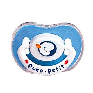 『121婦嬰用品館』PUKU 拇指浮雕安撫奶嘴 -  較大(藍) 0