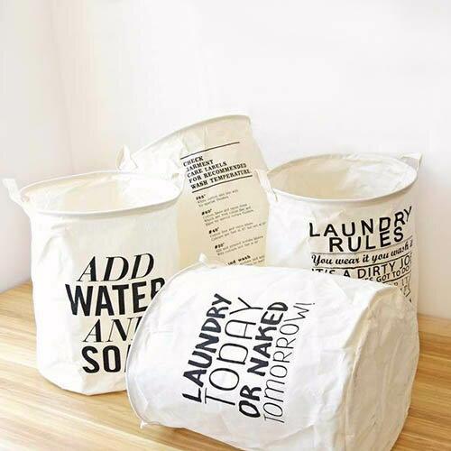 收納筒 超大收納洗衣籃 玩具雜貨收納  40*50【ZA0761】 BOBI  09/14 0