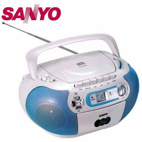 A0394 《SANYO 》三洋手提CD收錄音機 MCD-SC861