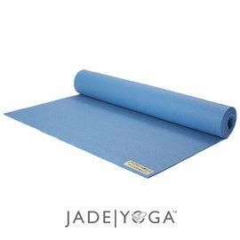 Jade 天然橡膠瑜珈墊 173cm-灰藍色