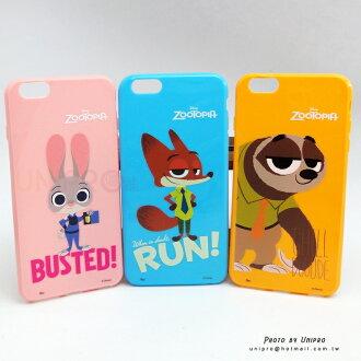ZOOTOPIA iPhone 6 6S PLUS 5.5吋 動物方城市 哈茱蒂 尼克 快俠 樹懶 TPU手機殼 i6+
