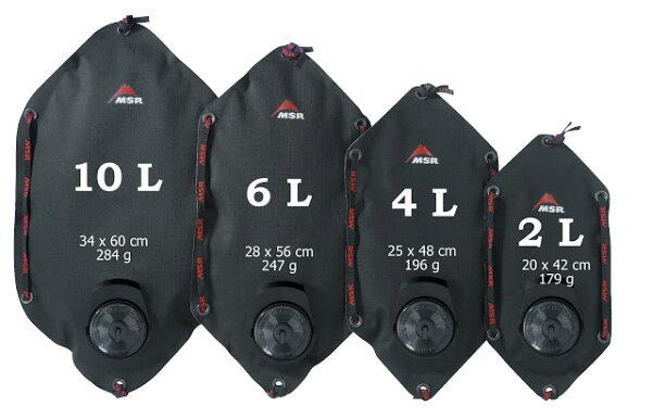 ├登山樂┤美國 MSR Dromedary™ Bags Cordura強化型水袋 黑 4L #MS-57057