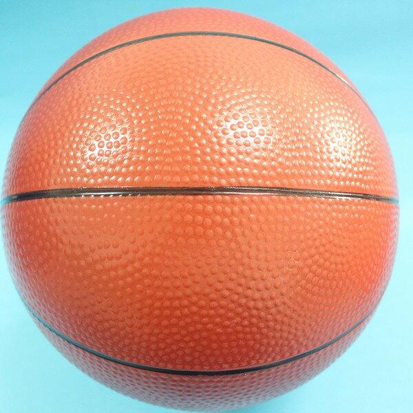 9吋安全籃球 兒童仿藍球 安全玩具球 充氣安全籃球 直徑20cm(加厚)/一個入{促80}~創BB91 橡皮球 橡膠球 充氣球 安全球