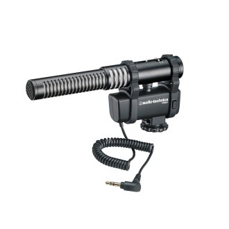 可傑 audio-technica 鐵三角AT8024 相機用麥克風 公司貨