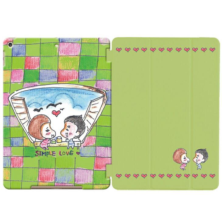 傾聽愛情系列 - 【 甜甜的簡簡單單愛 】:《 iPad 專用》水晶殼+Smart Cover(磁桿)ASA