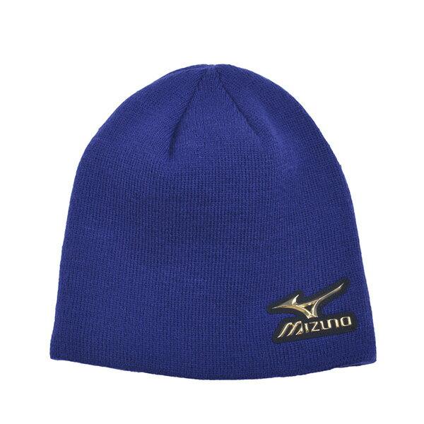 日本同步限量MIZUNO PRO 針織帽  12JW5B0116 (寶藍)【美津濃MIZUNO】