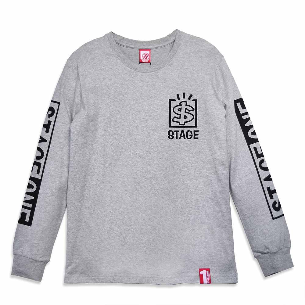 STAGEONE TALENT BOX LS TEE 黑色 / 麻灰色 兩色 5