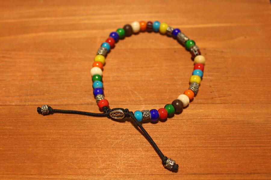 【現貨商品】【M.Cohen】南美洲高彩琉璃珠手環 (MC-B-103300-SLV 09769300OK) 1
