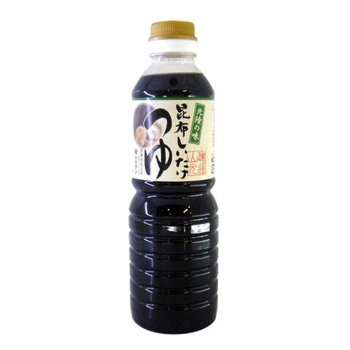 日本山元北陸昆布香菇醬油