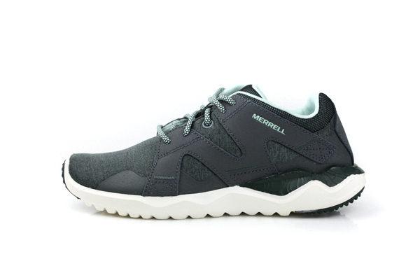 MERRELL 戶外運動鞋 女鞋 灰綠色 1